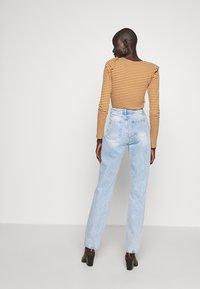 Noisy May Tall - NMLISA VOLUM - Jeans Straight Leg - light blue denim - 2