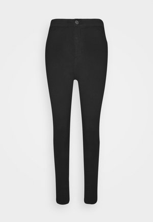 NMELLA SUPER - Jeans Skinny - black