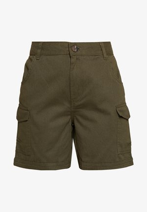 NMLOUISE TALL - Shorts - olive night