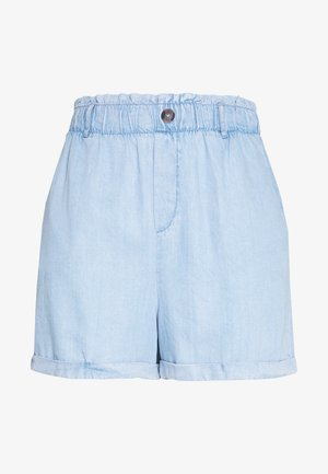 NMMARIA PAPERBACK - Jeansshorts - light blue
