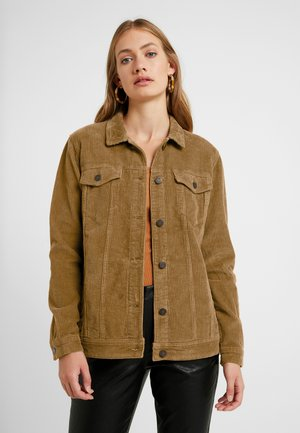 NMOLE WIDE JACKET - Chaqueta de invierno - tobacco brown