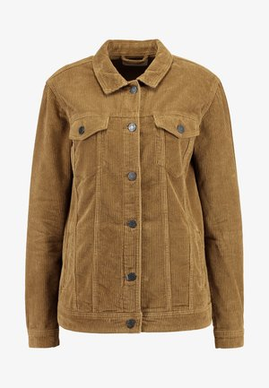 NMOLE WIDE JACKET - Talvitakki - tobacco brown