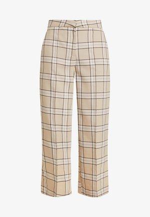 GAIA PANTS - Spodnie materiałowe - beige