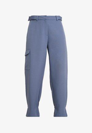 CASEY PANTS - Trousers - dusty blue