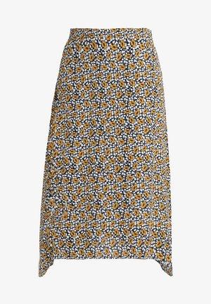 TEENA SKIRT - Spódnica trapezowa - yellow