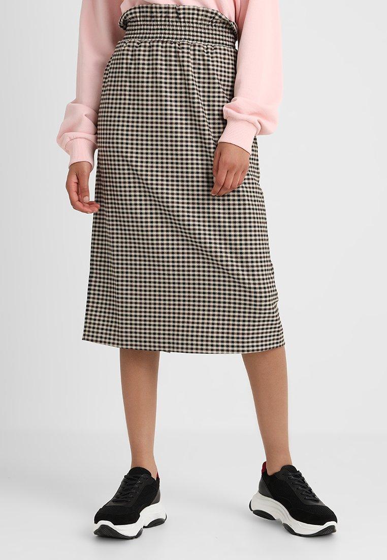 NORR - IBEN SKIRT - A-line skirt - dark brown