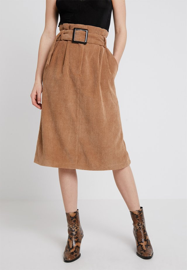 PENELOPE SKIRT - A-line skirt - brown