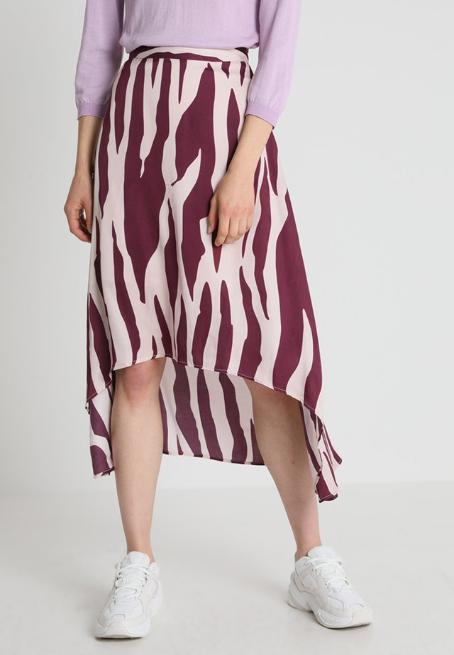 TYLER SKIRT - A-Linien-Rock - plum