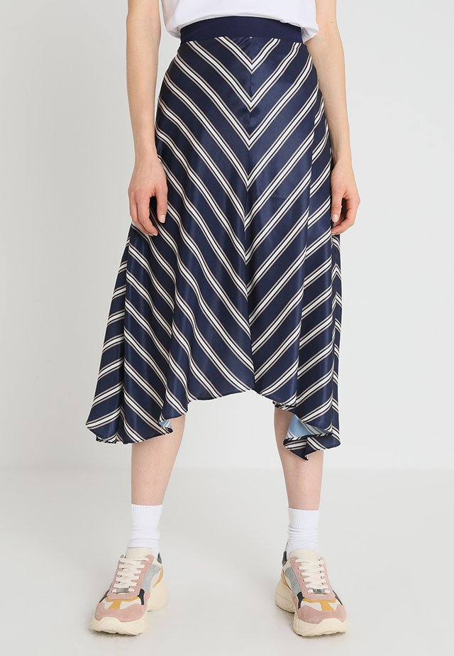BOBBI SKIRT - A-linjekjol - navy