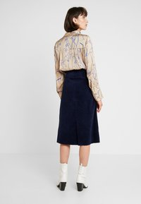 NORR - NEW PENELOPE SKIRT - Blyantnederdel / pencil skirts - navy