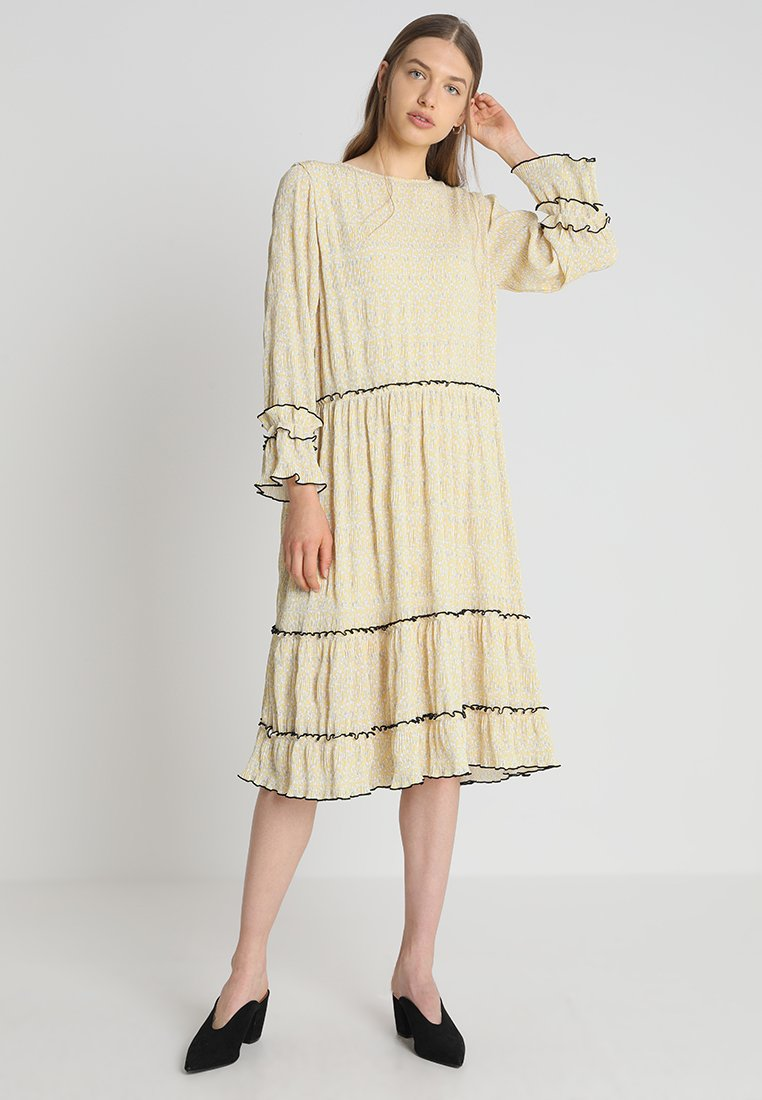 NORR - METTE DRESS - Day dress - light yellow