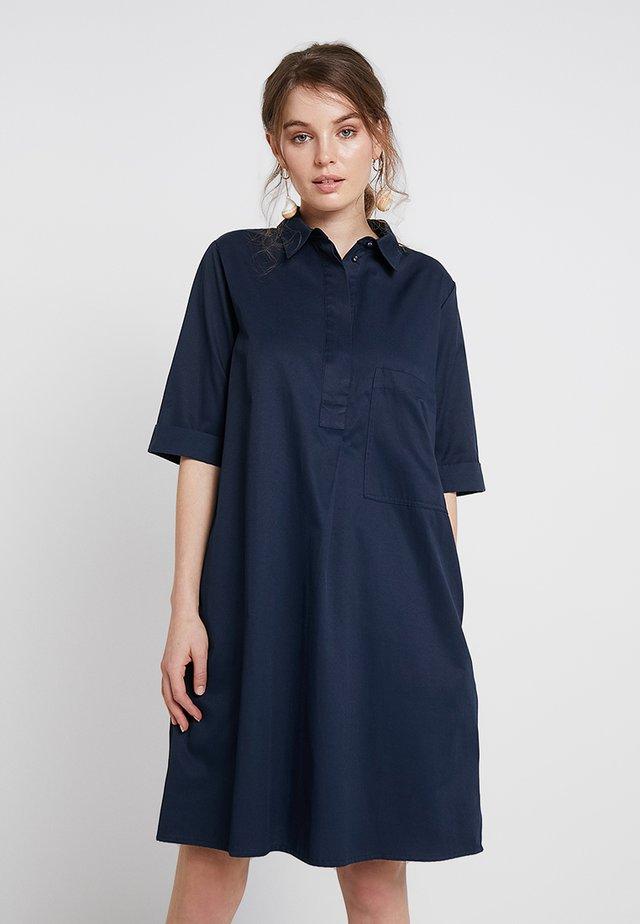 Košilové šaty - navy