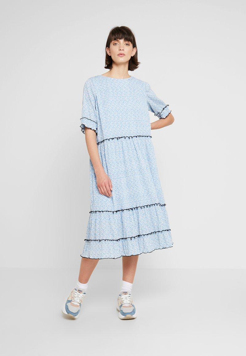 NORR - METTE DRESS - Maxi dress - light blue