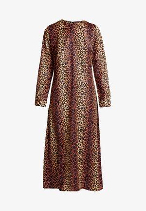 ALEXIS DRESS - Maxi šaty - brown/black