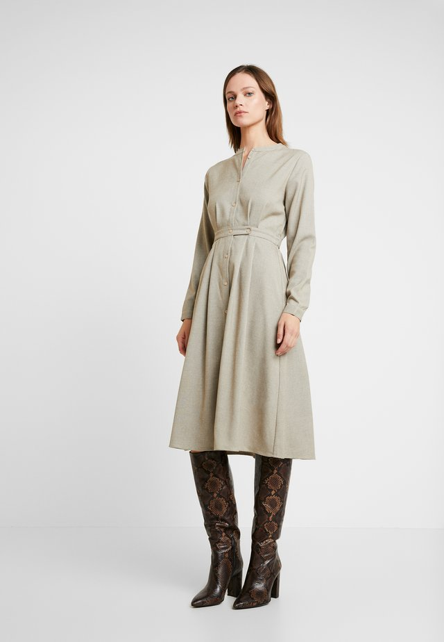 EDEN DRESS - Skjortklänning - beige