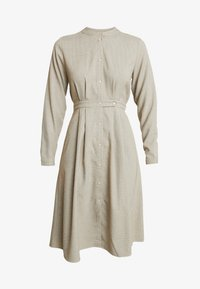 NORR - EDEN DRESS - Skjortekjole - beige - 3