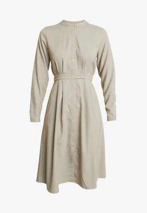 EDEN DRESS - Skjortekjole - beige
