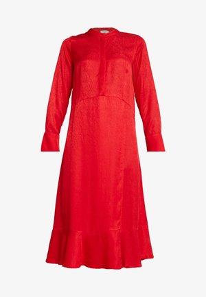 HARPER DRESS - Abito a camicia - red