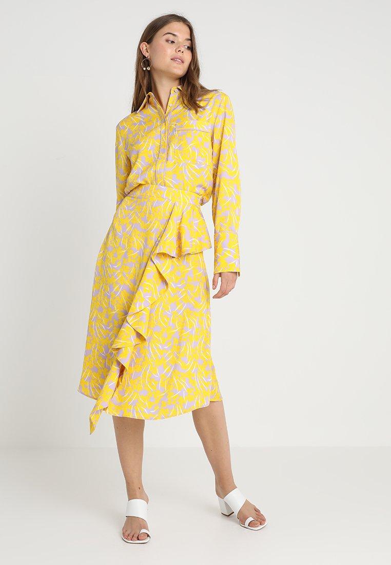 NORR - ANASTACIA - Skjortebluser - yellow