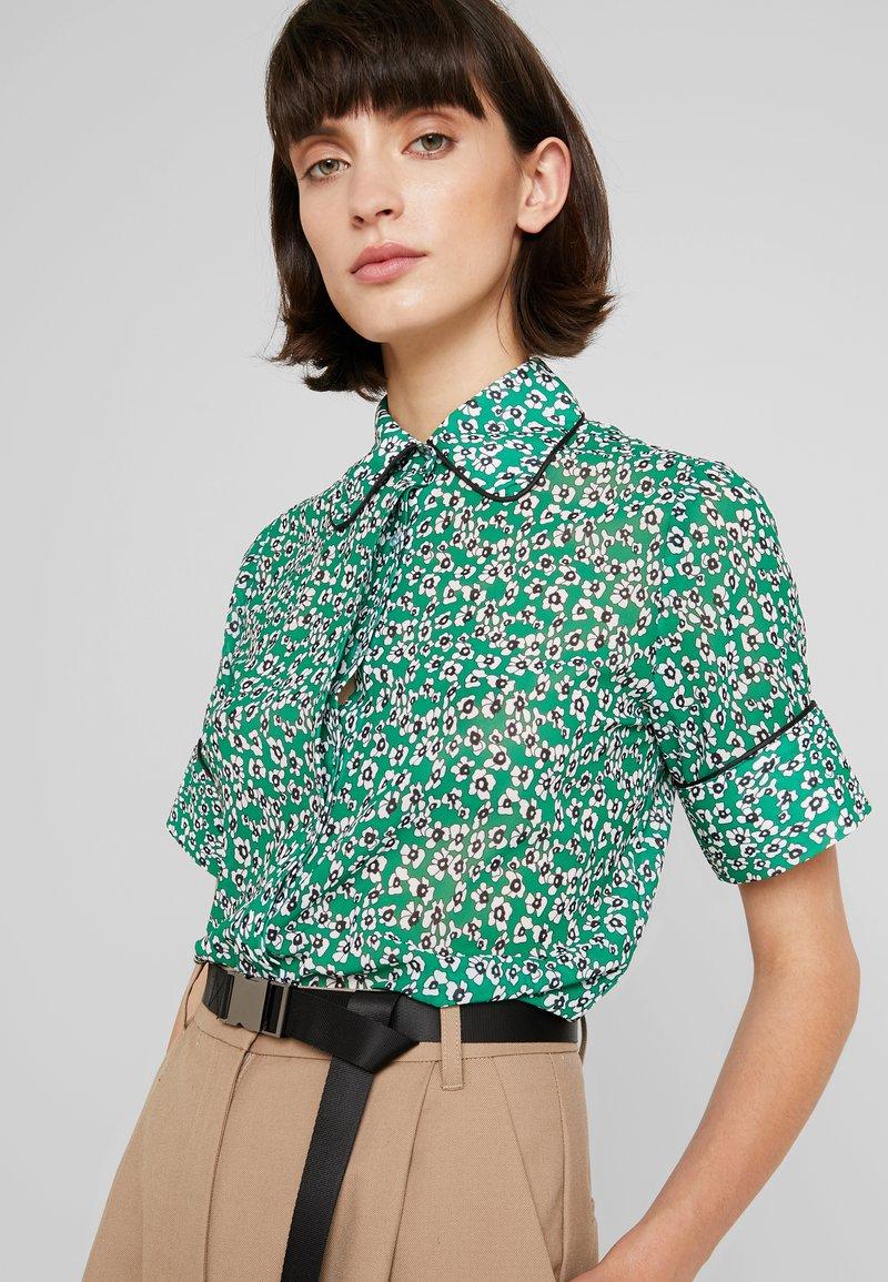 NORR - MONTANA - Button-down blouse - green