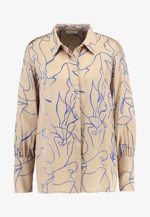 RYLAN - Skjortebluser - beige/blue