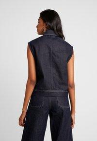 NORR - LUCAS - Waistcoat - dark blue - 2