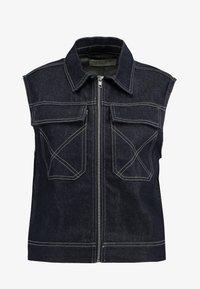 NORR - LUCAS - Waistcoat - dark blue - 3