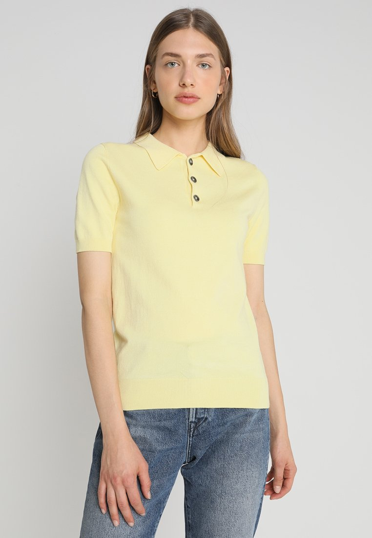 NORR - HADELY - Polo - light yellow