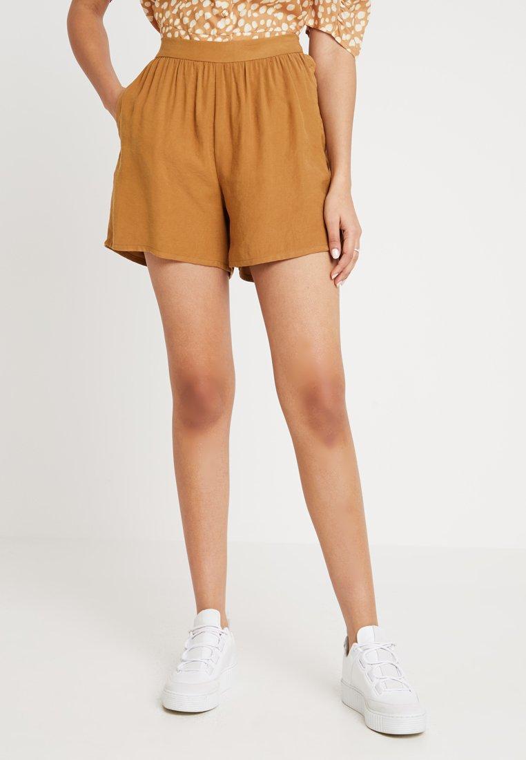 NORR - MILLE - Shortsit - golden brown