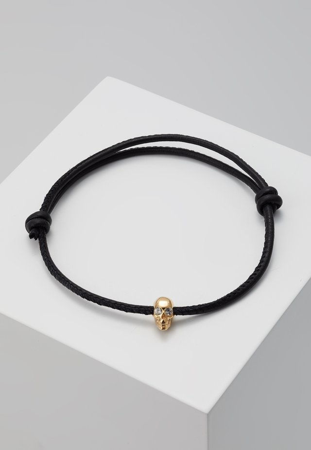 SKULL FRIENDSHIP BRACELET - Náramek - gold-coloured