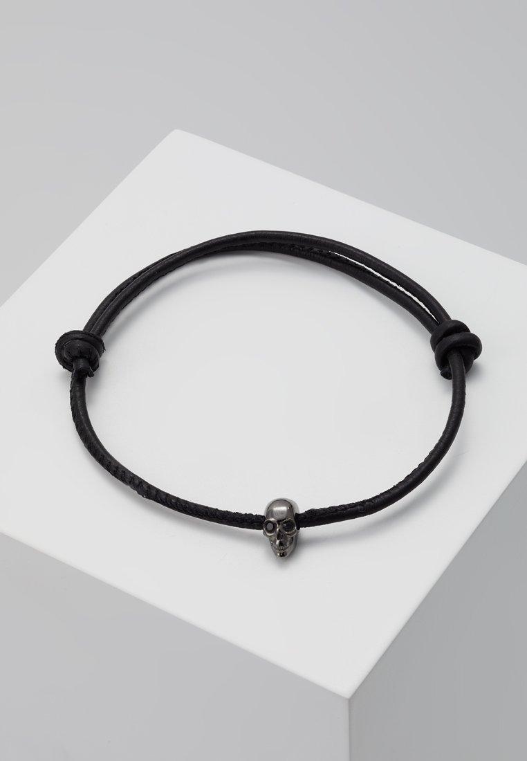 Northskull - SKULL FRIENDSHIP BRACELET - Bracelet - gunmetal