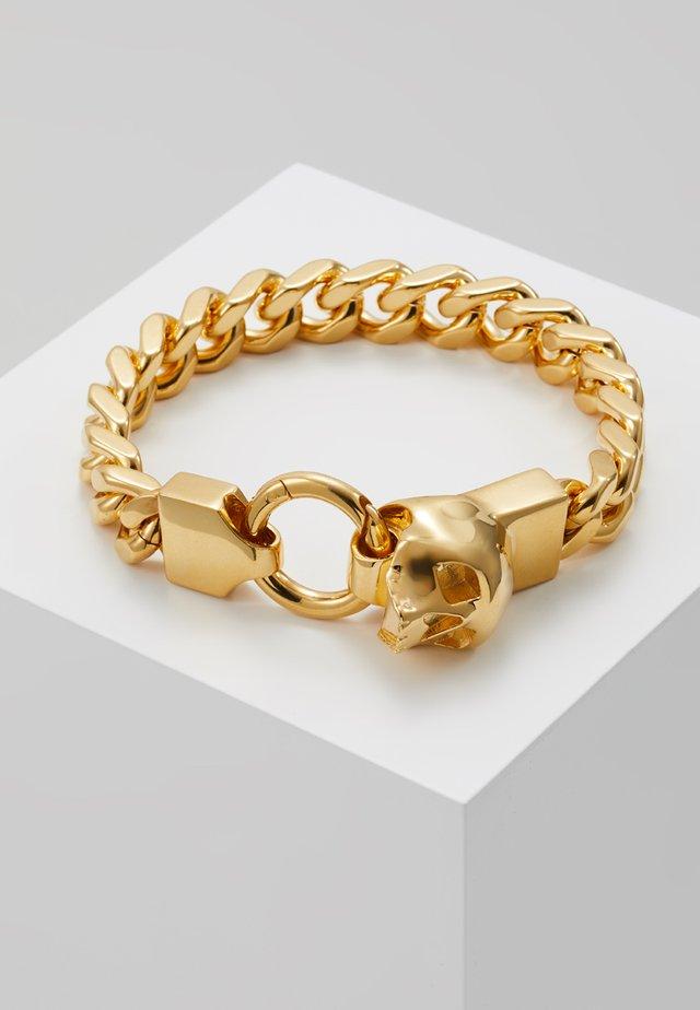 MEDIUS SKULL CHAIN BRACELET - Armband - gold-coloured