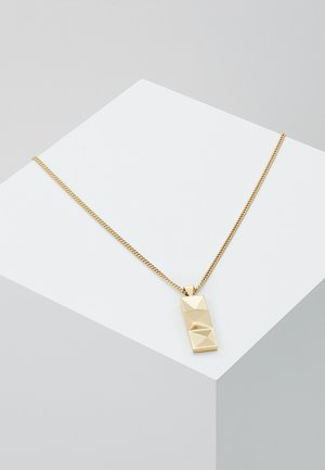 OUT TAG NECKLACE - Halskæder - yellow gold-coloured