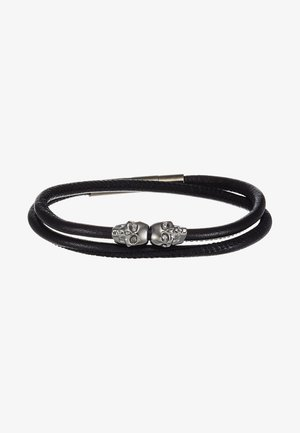 SKULL WRAP AROUND BRACELET - Bracelet - black