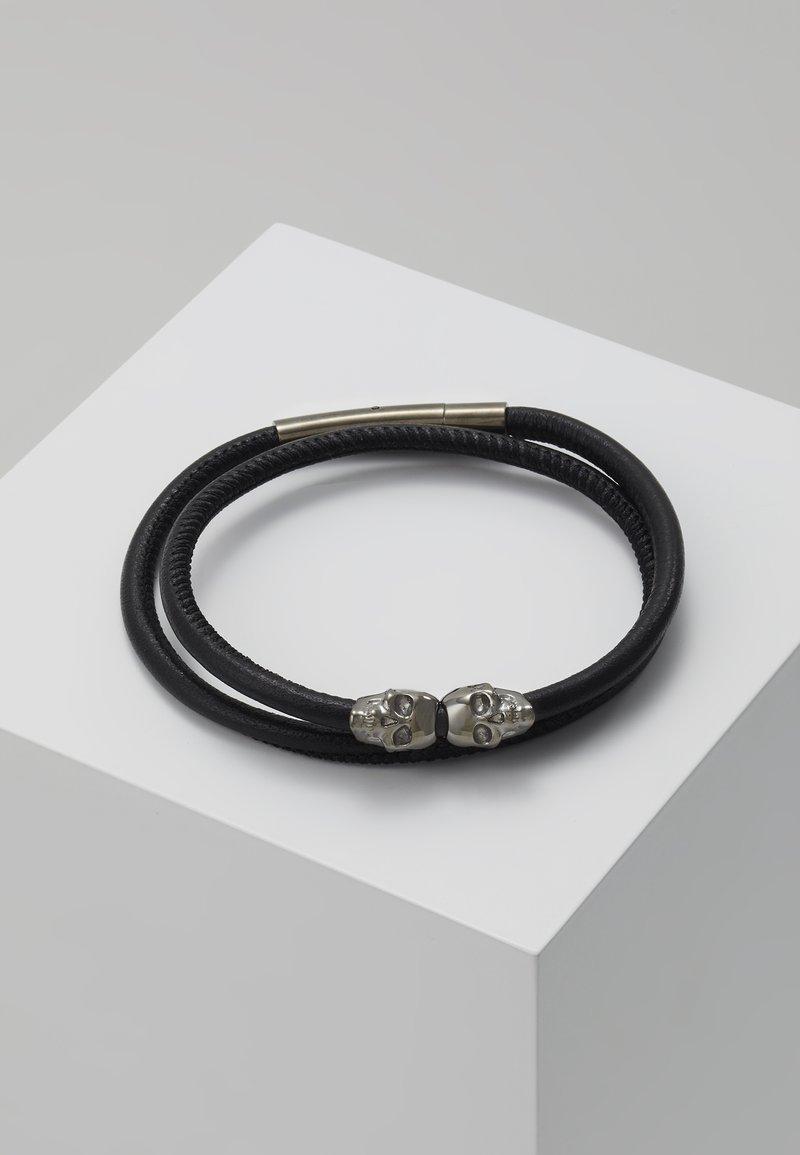 Northskull - SKULL WRAP AROUND BRACELET - Armband - black