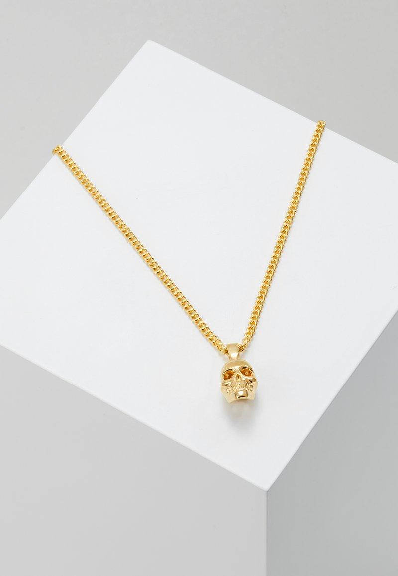 Northskull - ATTICUS SKULL NECKLACE - Necklace - gold-coloured