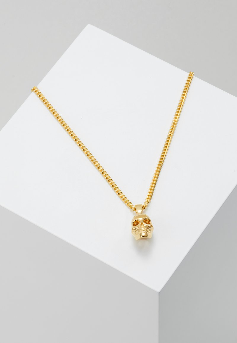 Northskull - ATTICUS SKULL NECKLACE - Necklace - gold-coloured
