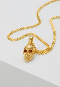 Northskull - ATTICUS SKULL NECKLACE - Necklace - gold-coloured - 5