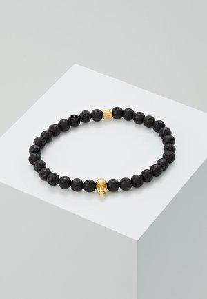 SKULL BRACELET - Bracelet - black/gold-coloured