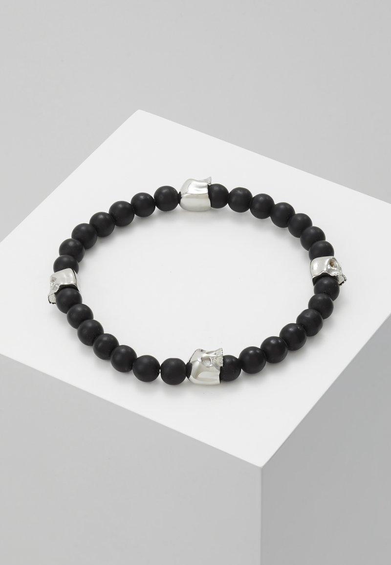 Northskull - Armband - black lava