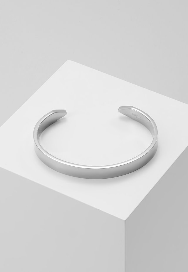 THE END CUFF - Bracelet - silver-coloured