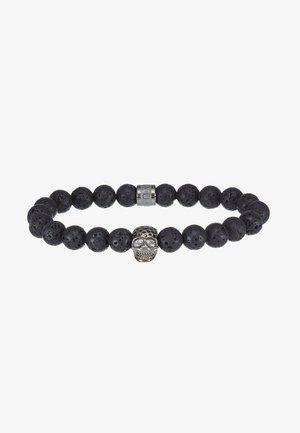 LAVASTONE CHARM BRACELET - Bracelet - black