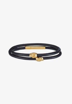 MICRO ATTICUS DOUBLE WRAP - Rannekoru - black/gold-coloured