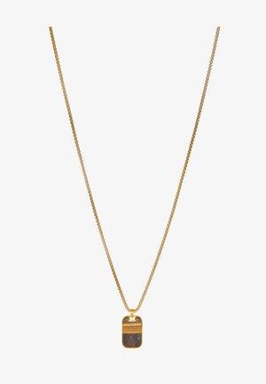 Náhrdelník - gold-coloured/brown