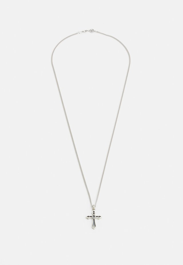 EXCLUSIVE CROSS NECKLACE UNISEX - Necklace - silver-coloured