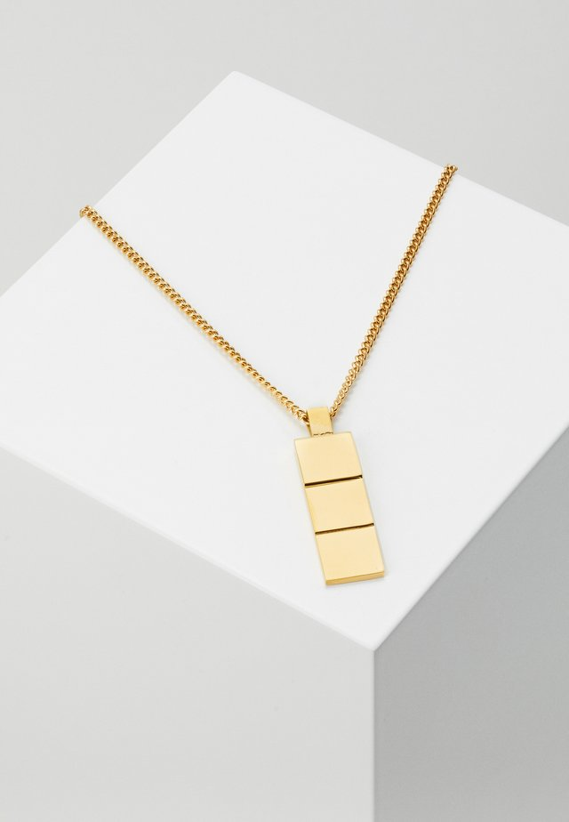 LAYERS NECKLACE - Halskæder - gold-coloured