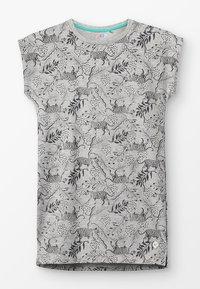NOP - DRESS BATAVIA  - Jerseykjoler - grey melange - 0