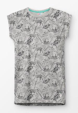 DRESS BATAVIA  - Sukienka z dżerseju - grey melange