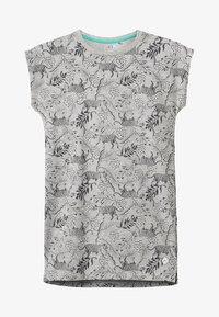 NOP - DRESS BATAVIA  - Jerseykjoler - grey melange - 2