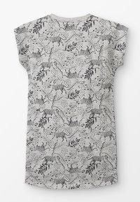 NOP - DRESS BATAVIA  - Jerseykjoler - grey melange - 1